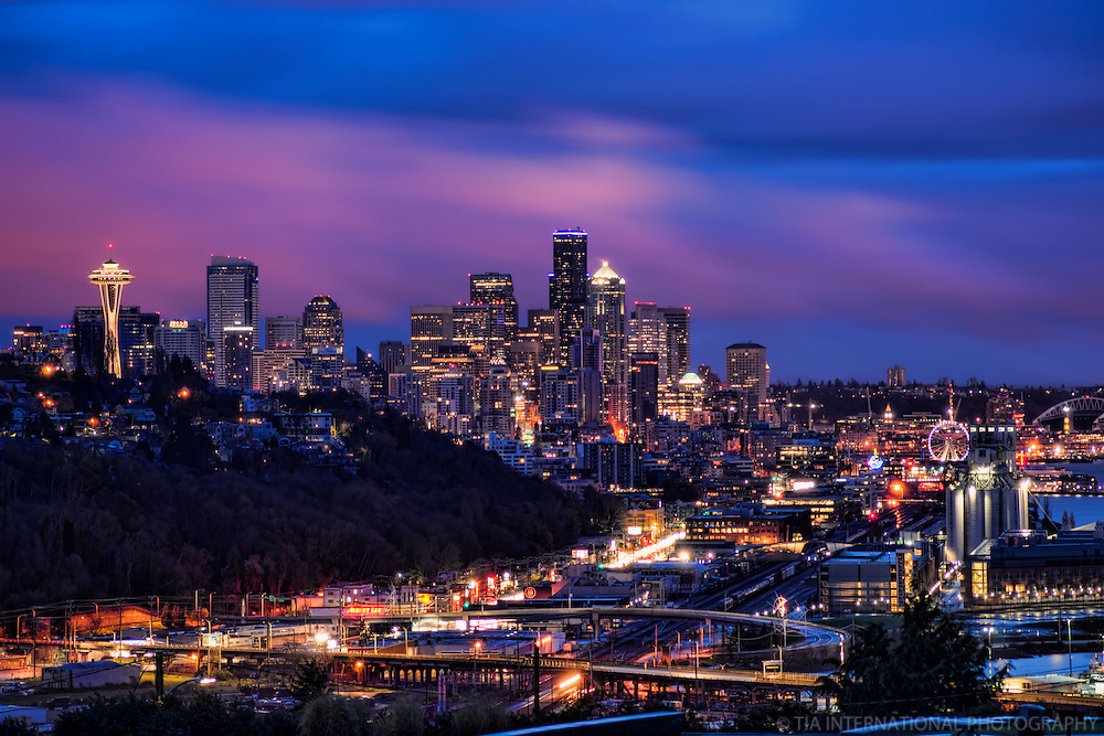 Morning Twilight, Seattle