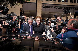 © London News Pictures. 05/06/2013. London, UK. REBEKAH BROOKS (centre), Former CEO of News International and former editor of the News of The Worlds leaving Southwark Crown Court in London after pleading not guilty charges relating to phone hacking at the News of The World. . Photo credit: Ben Cawthra/LNP