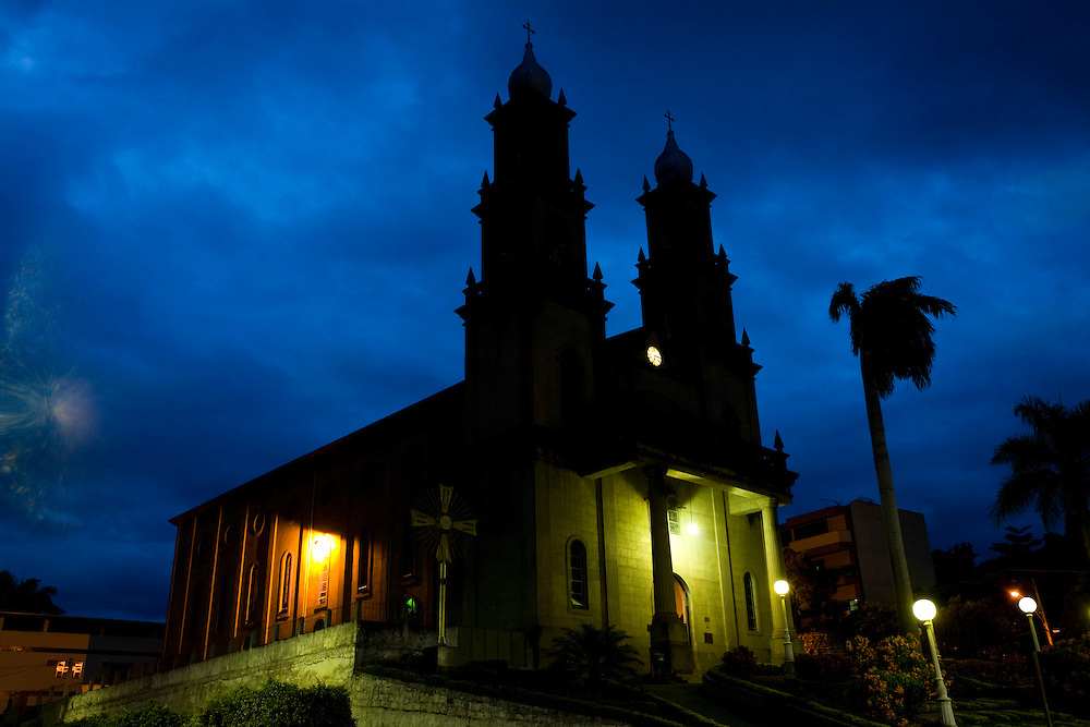 Castelo_ES, Brasil...Igreja Matriz Nossa Senhora da Penha em Castelo...Mother church Nossa Senhora da Penha in Castelo...Foto: LEO DRUMOND / NITRO