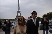 Cristina Ricci. Atelier Versace show, Theatre National de Chaillot. Paris. © Copyright Photograph by Dafydd Jones 66 Stockwell Park Rd. London SW9 0DA Tel 020 7733 0108 www.dafjones.com