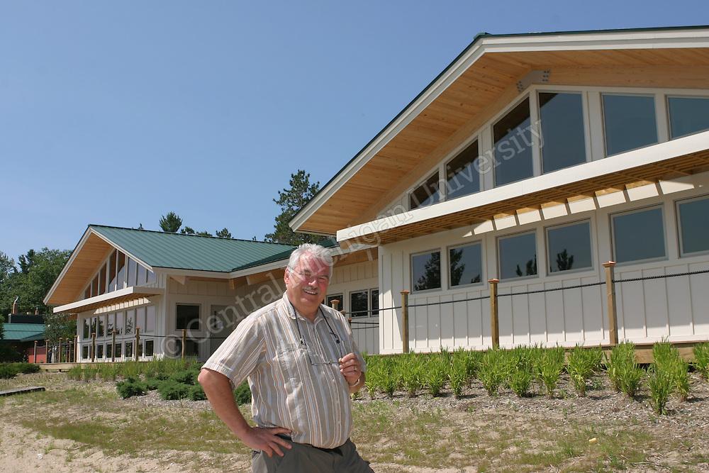 Beaver Island. Dedication of the new academic building named for Gillingham