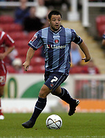 Photo: Jonathan Butler.<br /> Swindon Town v Charlton Athletic. The Carling Cup. 14/08/2007.<br /> Andy Reid Charlton Athletic Captain.