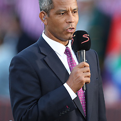 Jeremy Guscott rugby commentator during the 2018 Castle Lager Incoming Series 1st Test match between South Africa and England at Emirates Airline Park,<br /> Johannesburg.South Africa. 09,06,2018 Photo by (Steve Haag Sports)