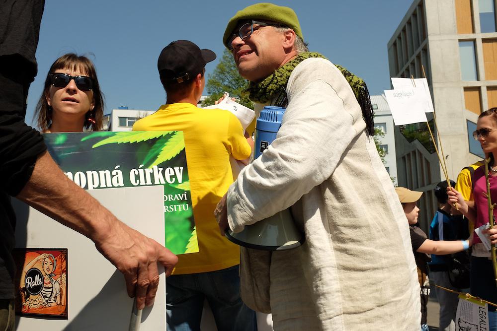 First Million Marijuana March to be organized in Ostrava, Czech Republic, supporting the legalization of marijuana.