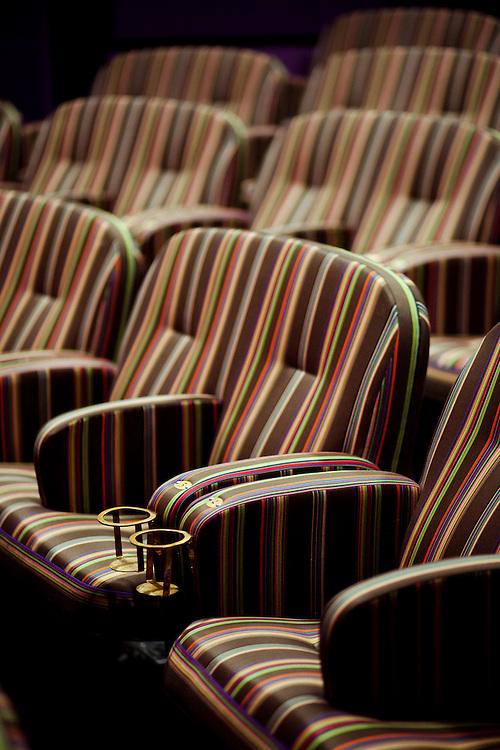 Paul Smith designed cinema screen room, Screen 4, Broadway Cinema, Nottingham