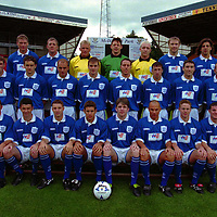 The St Johnstone FC's 1st team squad for 1998/99 season.<br />