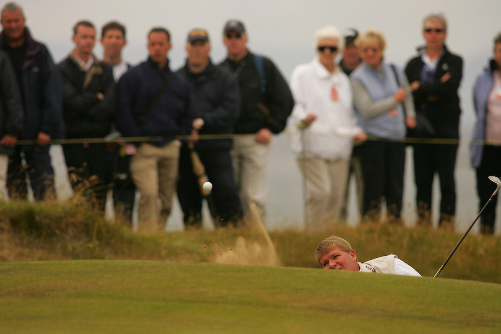 John Daly..2004 Open Championship.( British Open ).Royal Troon GC.Troon, Scotland UK.First Round.Thursday, July 15 2004..photograph by Darren Carroll