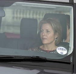 Serena Linley attends the Queen's Christmas lunch. Buckingham Palace, London, United Kingdom. Wednesday, 18th December 2013. Picture by i-Images