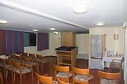 Interior of a Small Synagogue, Nof Ginosar hotel, Israel, December 2007