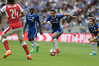Football - 2017 FA Cup Final - Arsenal vs. Chelsea<br /> <br /> Pedro of Chelsea attacks at Wembley.<br /> <br /> COLORSPORT/DANIEL BEARHAM