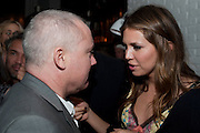 DAMIEN HIRST; DASHA ZHUKOVA, Dom PŽrignon with Alex Dellal, Stavros Niarchos, and Vito Schnabel celebrate Dom PŽrignon Luminous. W Hotel Miami Beach. Opening of Miami Art Basel 2011, Miami Beach. 1 December 2011. .<br /> DAMIEN HIRST; DASHA ZHUKOVA, Dom Pérignon with Alex Dellal, Stavros Niarchos, and Vito Schnabel celebrate Dom Pérignon Luminous. W Hotel Miami Beach. Opening of Miami Art Basel 2011, Miami Beach. 1 December 2011. .