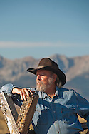 Western Photographer, Allen Russell in Montana, MODEL RELEASED, PROPERTY RELESED