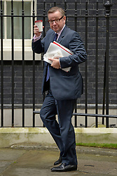 © Licensed to London News Pictures. 10/07/2012. Westminster, UK. Secretary of State for Education MICHAEL GOVE. Politicians in Downing Street today 10th July 2012. Photo credit : Stephen Simpson/LNP
