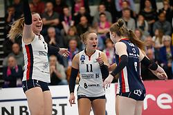 20190131 NED: Semi Final Cup Sliedrecht Sport - Eurosped, Sliedrecht <br />Brechtje Kraaijvanger (2) of Sliedrecht Sport , Ana Rekar (11) of Sliedrecht Sport <br />©2019-FotoHoogendoorn.nl / Pim Waslander