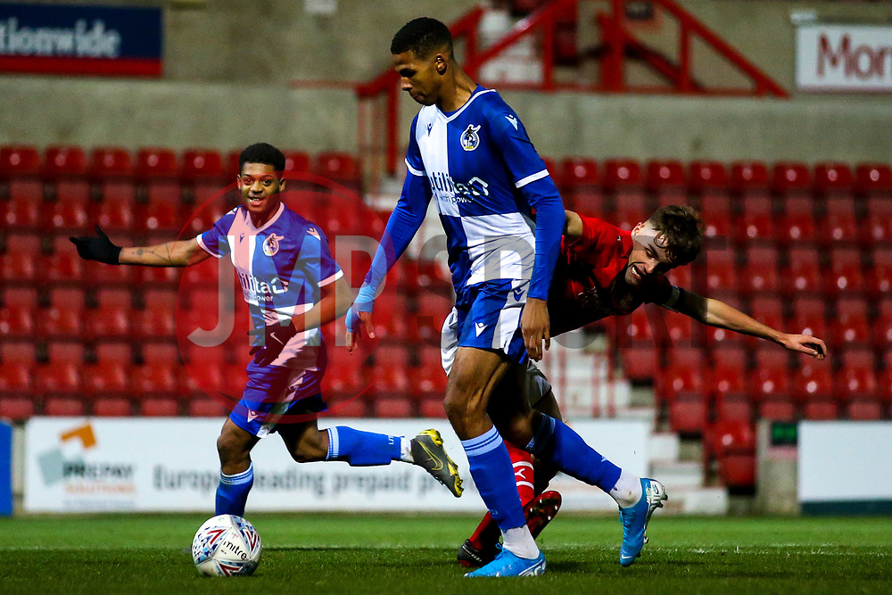 Isaiah Crawford of Bristol Rovers - Mandatory by-line: Robbie Stephenson/JMP - 29/10/2019 - FOOTBALL - County Ground - Swindon, England - Swindon Town v Bristol Rovers - FA Youth Cup Round One