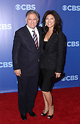 Les Moonves and Julie Chen attend the 2010-2011 CBS Upfront Arrivals at Lincoln Center in New York City on May 19, 2010...