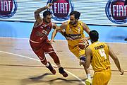 DESCRIZIONE : Torino Lega A 2015-2016 Manital Torino - Grissin Bon Reggio Emilia<br /> GIOCATORE : Guido Rosselli<br /> CATEGORIA : Palleggio Penetrazione<br /> SQUADRA : Manital Auxilium Torino<br /> EVENTO : Campionato Lega A 2015-2016<br /> GARA : Manital Torino - Grissin Bon Reggio Emilia<br /> DATA : 05/10/2015<br /> SPORT : Pallacanestro<br /> AUTORE : Agenzia Ciamillo-Castoria/GiulioCiamillo