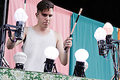 PURITY RING @ CELEBRATE BROOKLYN! IN PROSPECT PARK 2012