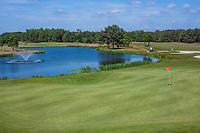 TILBURG -  hole Blaak 6 .  PRISE D'EAU GOLF, golfbaan.  COPYRIGHT KOEN SUYK