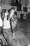 Camilla Gibbs dancing at Oyster ball, Whitbread Brewery. 1983© Copyright Photograph by Dafydd Jones 66 Stockwell Park Rd. London SW9 0DA Tel 020 7733 0108 www.dafjones.com<br /><br />© Copyright Photograph by Dafydd Jones 66 Stockwell Park Rd. London SW9 0DA Tel 020 7733 0108 www.dafjones.com