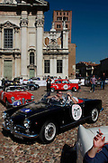 GP TAZIO NUVOLARI 2012. Mantova, ALFA ROMEO  GIULIA SPIDER 1962
