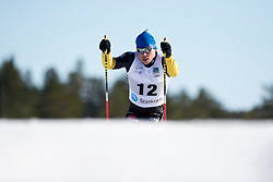 HAUCH Max, NOR, Middle Distance Cross Country, 2015 IPC Nordic and Biathlon World Cup Finals, Surnadal, Norway