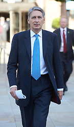 Philip Hammond at the Conservative Party Conference, Manchester, United Kingdom. Sunday, 29th September 2013. Picture by i-Images