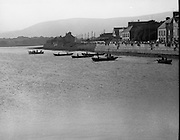 Dingle Regatta.22/08/1976.08/22/1976.22nd August 1976.Photograph of Curraghs in the water at the start of the Seine Boat Competition.