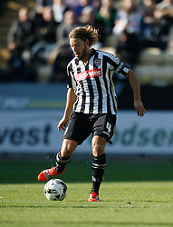 Alan Smith of Notts County in action - Mandatory byline: Jack Phillips / JMP - 07966386802 - 11/10/2015 - FOOTBALL - Meadow Lane - Nottingham, Nottinghamshire - Notts County v Plymouth Argyle - Sky Bet Championship