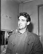 Dominic Behan - Author at Gaiety Theatre - Dublin Ireland. .29/09/1959.