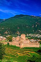 Castello di Montebello, Bellinzona, Ticino, Switzerland