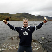 Derek Brown of The Famous Grouse Experience pictured at Loch Turret, where Derek conducts sessions of his Passport to Success programme which has been shortlisted for an award.<br />