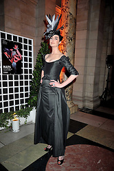 ERIN O'CONNOR at Hats - an antology of Stephen Jones held at the V&A, London on 23rd February 2009.