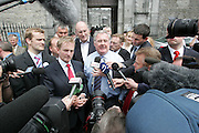 14/5/2007.Enda Kenny an Pat Rabitte pictured in Kilkenny yesterday on the election campaign..Picture Dylan Vaughan.
