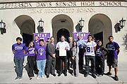 Davis High School voter registration drive.