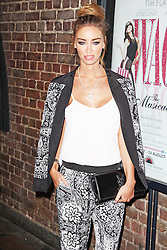 © Licensed to London News Pictures. 13/08/2013. LONDON. Lauren Pope, WAG! The Musical - ViP Night, Charing Cross Theatre, London UK, 13 August 2013,Photo credit : Brett D. Cove/Piqtured/LNP