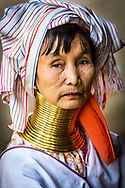 Portrait of a Padaung Woman<br />