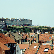 Whitby, North Yorkshire, England. Whitby is a seaside town situated on the East coast of Yorkshire at the mouth of the River Esk, Whitby, North Yorkshire, England. 23rd July 2011. Photo Tim Clayton