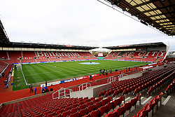 A general view of the Britannia Stadium - Mandatory by-line: Matt McNulty/JMP - 18/04/2016 - FOOTBALL - Britannia Stadium - Stoke, England - Stoke City v Tottenham Hotspur - Barclays Premier League