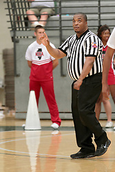 28 June 2014: 2014 Boys Illinois Basketball Coaches Association All Start game at the Shirk Center in Bloomington IL