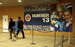 Reading fans arrive at the Madejski Stadium - Photo mandatory by-line: Robbie Stephenson/JMP - Mobile: 07966 386802 - 10/03/2015 - SPORT - Football - Reading - Madejski Stadium - Reading v Brighton - Sky Bet Championship