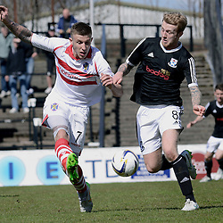 Ayr United v Stirling Albion | Scottish League One  | 25 April 2015