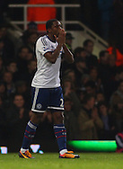 Picture by David Horn/Focus Images Ltd +44 7545 970036<br /> 23/11/2013<br /> Samuel Eto'o of Chelsea has a look of dispair after his shot doesn't hit the target during the Barclays Premier League match at the Boleyn Ground, London.