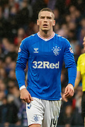 Rangers Midfielder Ryan kent during the Betfred Scottish League Cup semi-final match between Rangers and Heart of Midlothian at Hampden Park, Glasgow, United Kingdom on 3 November 2019.