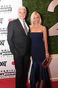 John O'Hurley and Lisa O'Hurley attend the Celebrity Fight Night event on March 23, 2019 in Scottsdale, AZ.