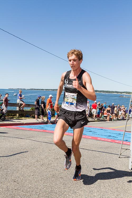 41st Falmouth Road Race: Luke Puskedra