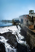 Waterfall, Quechee, Vermont, USA