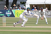 Hassan Azad batting during the Specsavers County Champ Div 2 match between Gloucestershire County Cricket Club and Leicestershire County Cricket Club at the Cheltenham College Ground, Cheltenham, United Kingdom on 15 July 2019.