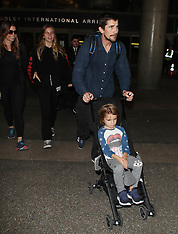 Christian Bale & Kids - 11 Jan 2019