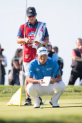 January 27, 2019 - San Diego, CA, U.S. - SAN DIEGO, CA - JANUARY 27: Hideki Matsuyama during the final round of the Farmers Insurance Open at Torrey Pines Golf Club on January 27, 2019 in San Diego, California. (Photo by Alan Smith/Icon Sportswire) (Credit Image: © Alan Smith/Icon SMI via ZUMA Press)